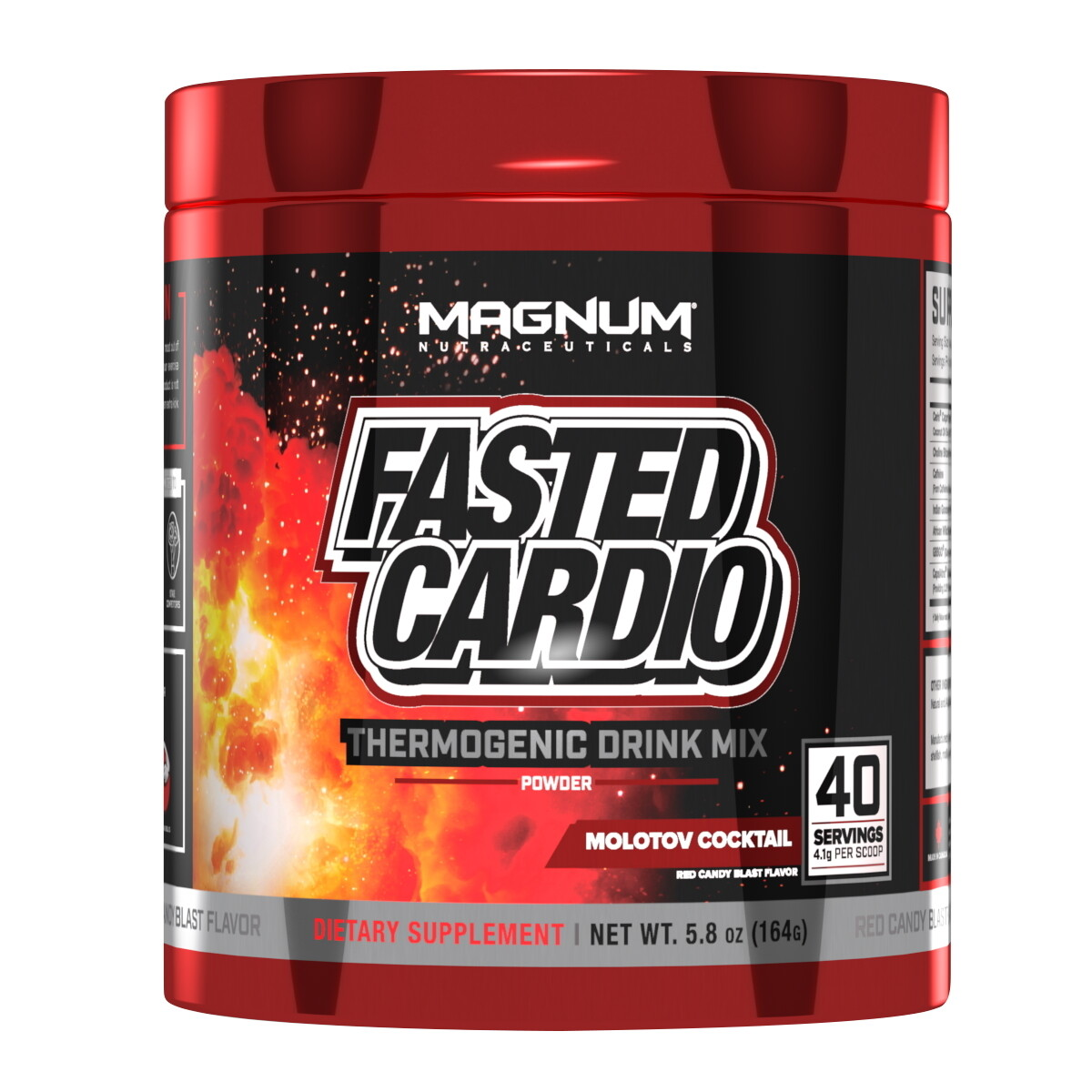 Magnum Fasted Cardio - Molotov Cocktail