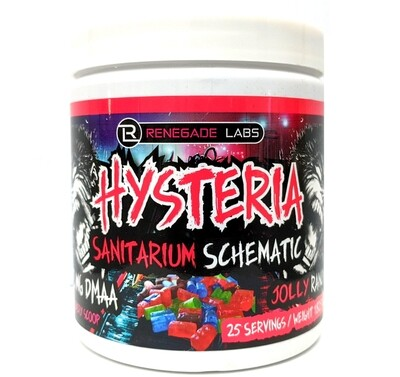Hysteria Pre Workout - Jolly Rancher