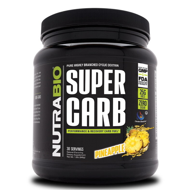 Nutrabio Super Carb - Pineapple