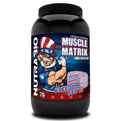 Nutrabio Muscle Matrix 2lb - Freedom Fetti