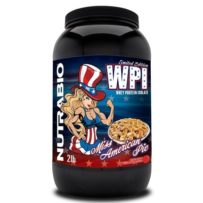 Nutrabio Whey Protein Isolate - Miss American Pie