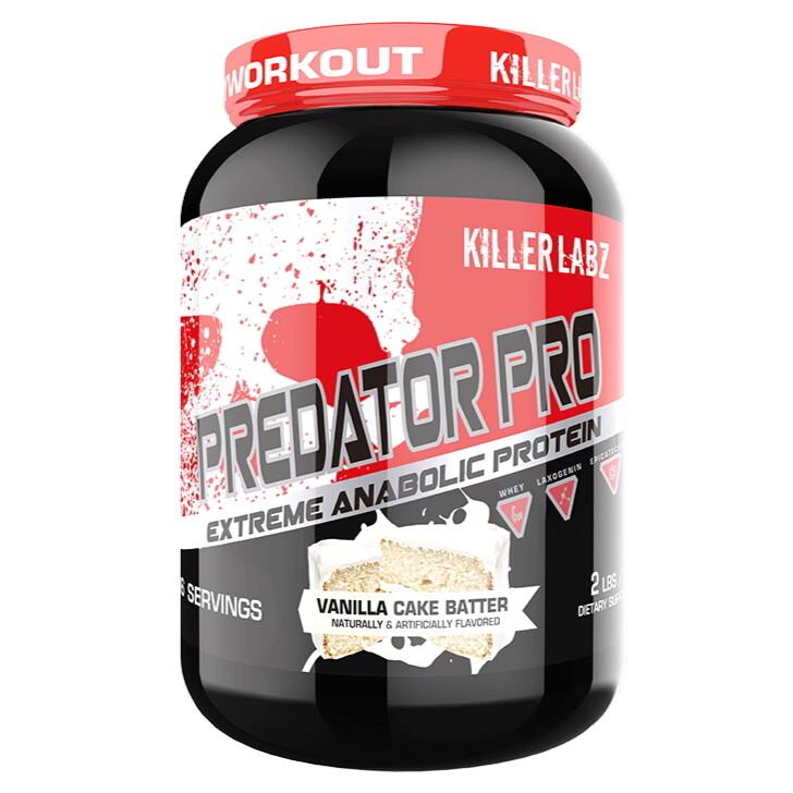 Killer Labz Predator Pro Anabolic Protein - Vanilla Cake Batter