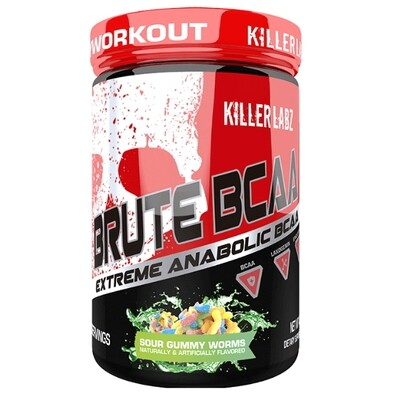Killer Labz Brute BCAA - Sour Gummy Worms