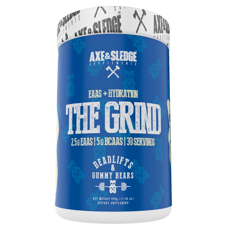 Axe & Sledge The Grind - Deadlifts & Gummy Bears