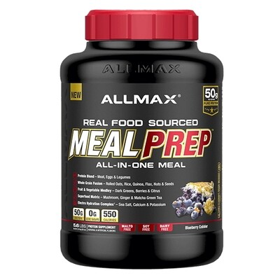 Allmax Meal Prep - Blueberry Cobbler