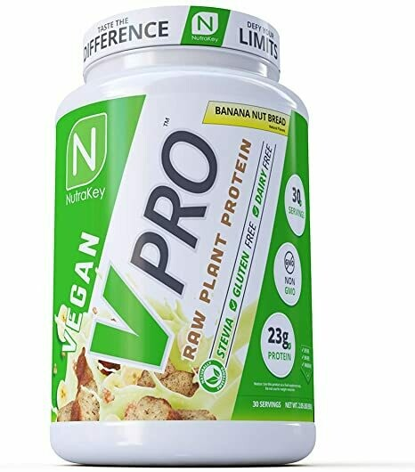 Nutrakey Vpro Plant Protein - Banana Nut Bread