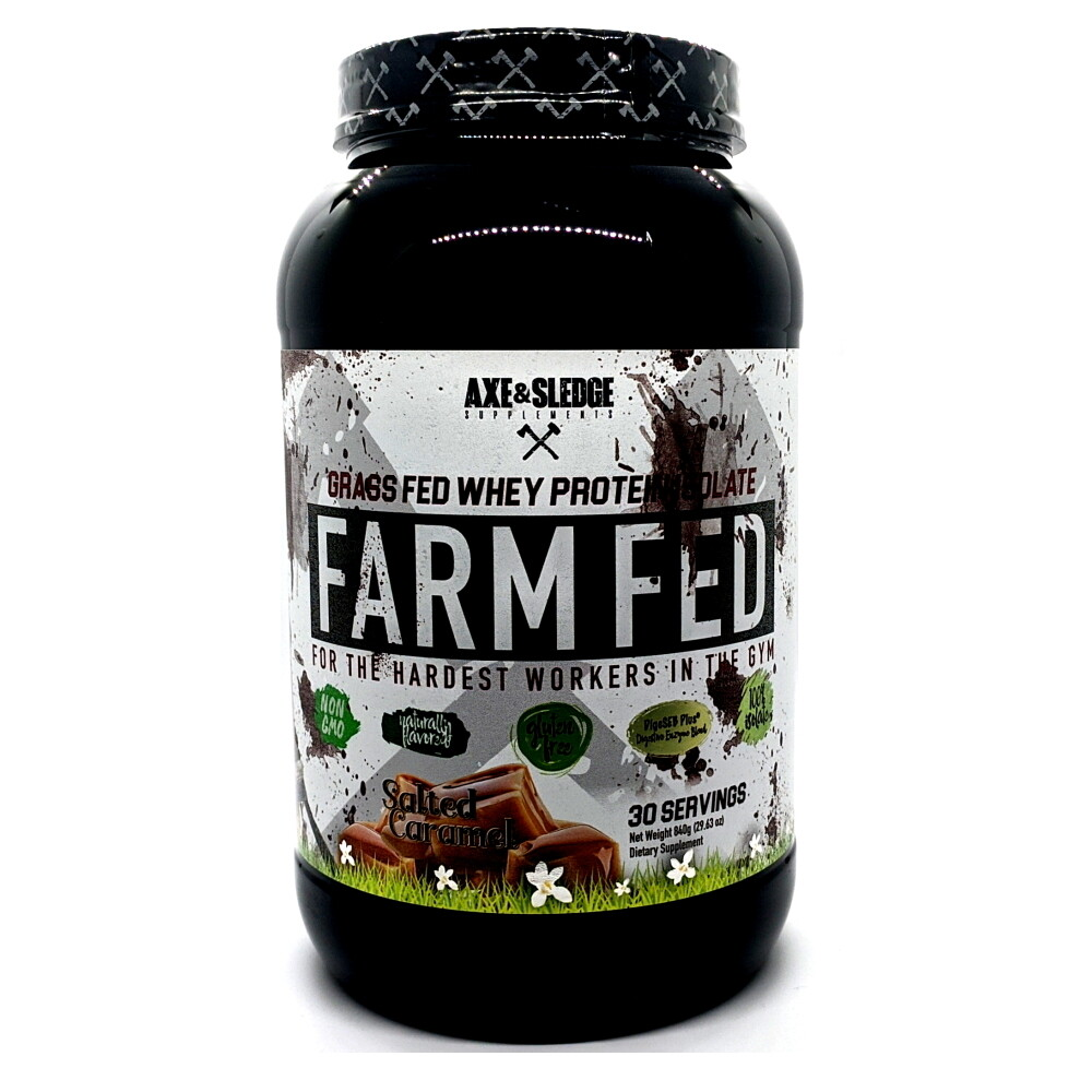 Axe & Sledge Farm Fed - Salted Caramel