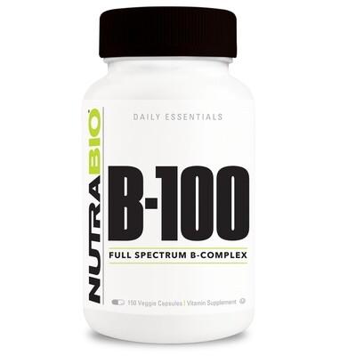 Nutrabio Vitamin B-100 Complex