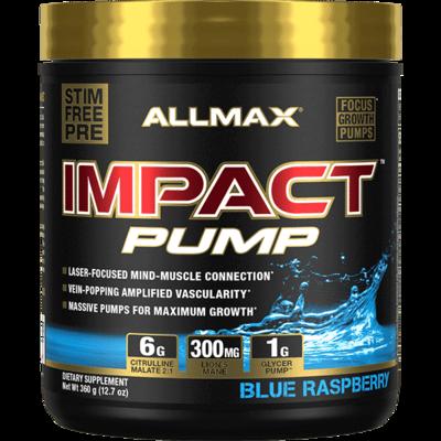 Allmax Impact Pump - Blue Raspberry