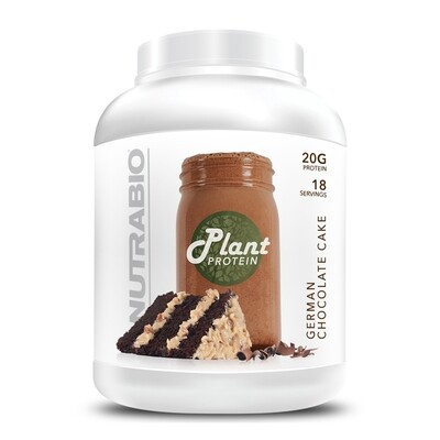 Nutrabio Plant Protein - German Chocolate Cake
