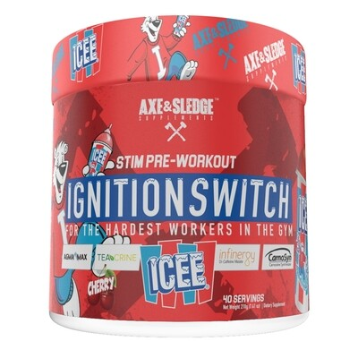 Axe & Sledge Ignition Switch - Icee Cherry