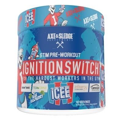 Axe & Sledge Ignition Switch - Icee Blue Raspberry