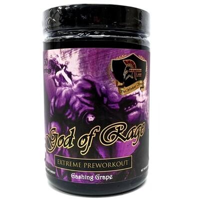 God Of Rage Pre Workout - Gashing Grape
