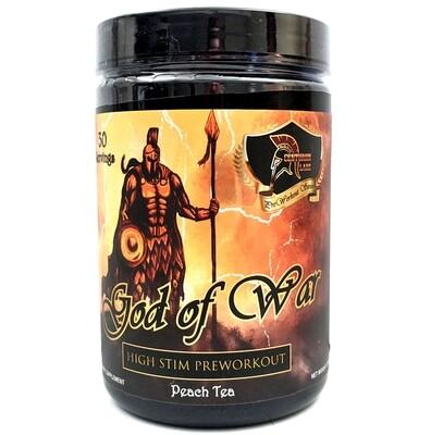 God Of War Pre Workout - Peach Tea