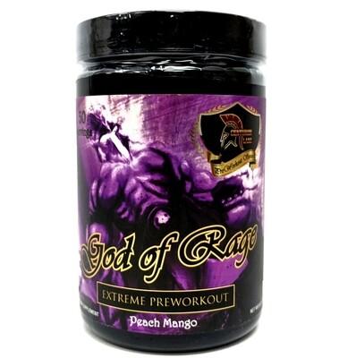 God Of Rage Pre Workout - Peach Mango