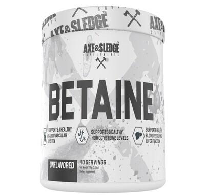 Axe & Sledge Betaine