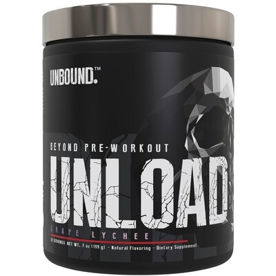 Unbound Unload Pre Workout - Grape Lychee