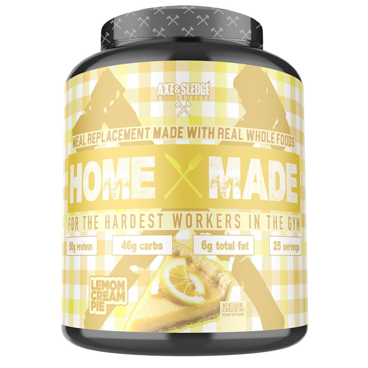 Axe & Sledge Home Made - Lemon Cream Pie