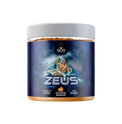 God Status Labz Zeus Pre Workout - Olympus Orange