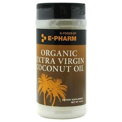 ORGANIC EXTRA VIRGIN COCONUT OIL - 16 Oz