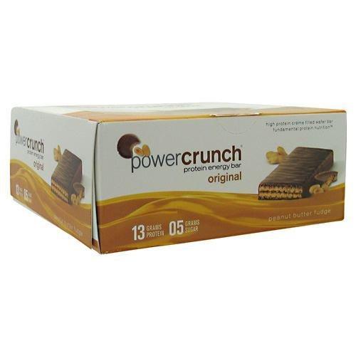 Power Crunch Bars Box Of 12 - Peanut Butter Fudge