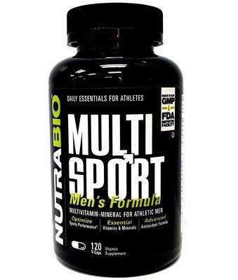 Nutrabio Multi Sport Vitamin For Men