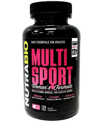Nutrabio Multi Sport Vitamin For Women