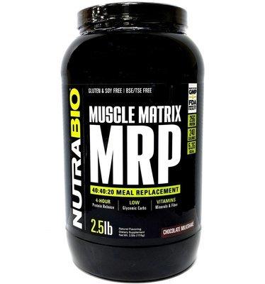 Nutrabio MRP Meal Replacement - Chocolate Milkshake