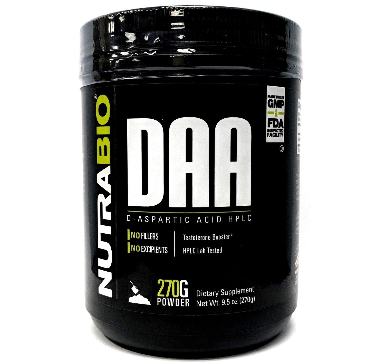 Nutrabio DAA - D-Aspartic Acid Powder
