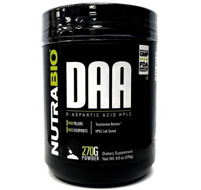Nutrabio DAA - D-Aspartic Acid Powder