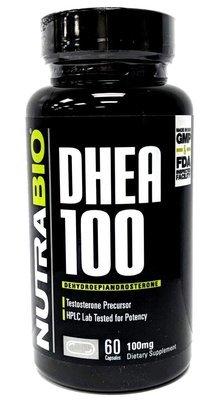 Nutrabio DHEA 100mg