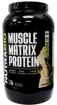 Nutrabio Muscle Matrix Protein 2Lb - Alpine Vanilla