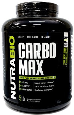 Nutrabio CarboMax 5 Lbs