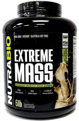 Nutrabio Extreme Mass - Vanilla