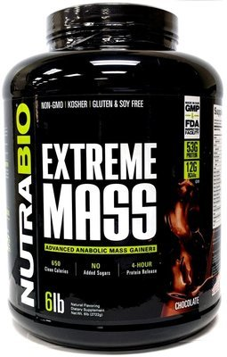 Nutrabio Extreme Mass - Chocolate