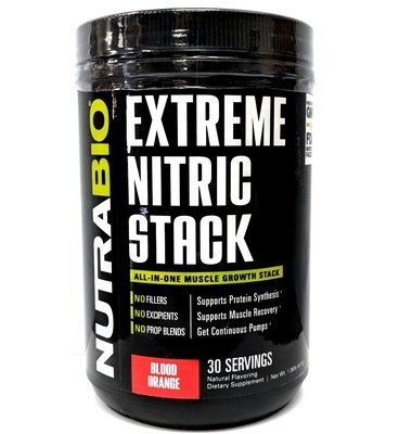 Nutrabio Extreme Nitric Stack - Blood Orange