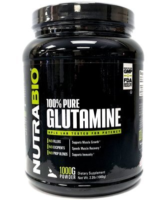 Nutrabio Glutamine Powder 1000 Grams