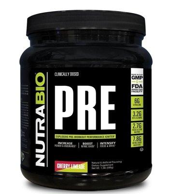 Nutrabio Pre Workout - Cherry Limeade