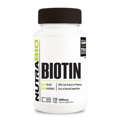 Nutrabio Biotin