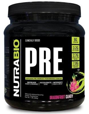 Nutrabio Pre Workout - Dragon Fruit Candy