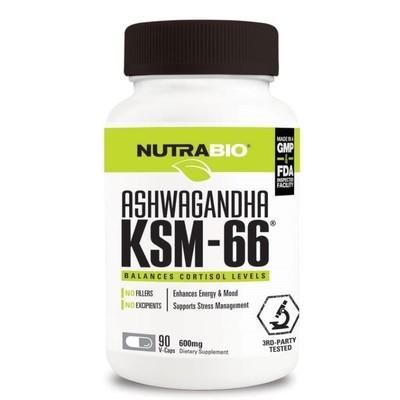 Nutrabio KSM-66 Ashwagandha