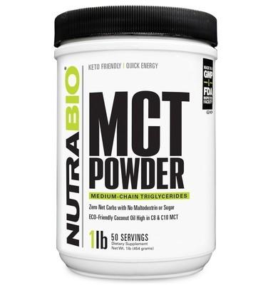 Nutrabio MCT Powder 1 Lb