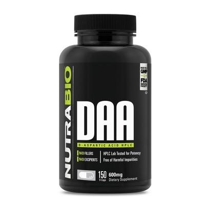 Nutrabio DAA D-Aspartic Acid Pills
