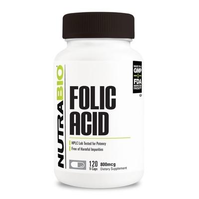Nutrabio Folic Acid