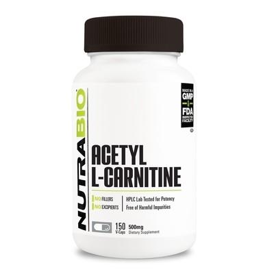 Nutrabio Acetyl L-Carnitine