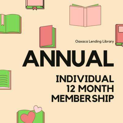 12 Month Individual Membership