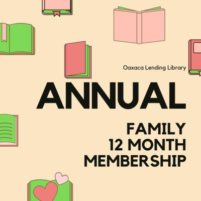 12 Month Family Membership