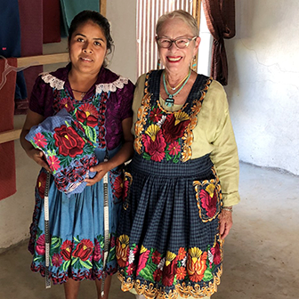 Talk: Artful Aprons of San Miguel del Valle - Friday, January 25, 2019