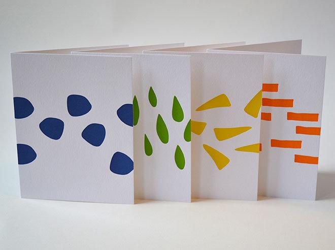 Shapes Card Set