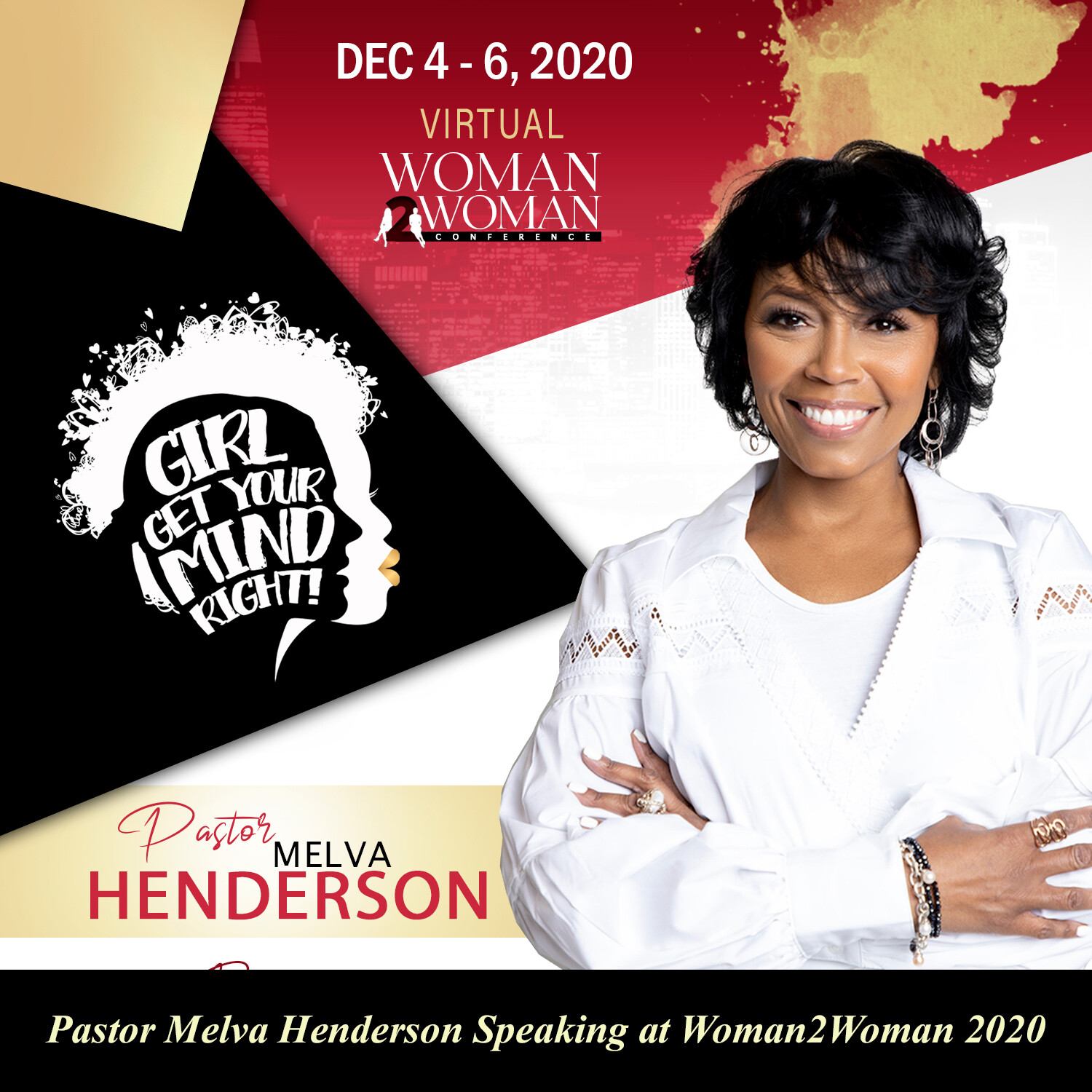 W2W 2020 Individual Session: Pastor Melva Henderson on Fearful Minds